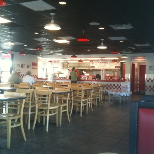 Photo taken at Five Guys by Brett K. on 1/9/2012