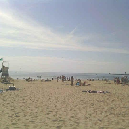 Photo taken at Silver Beach by Markeeta C. on 6/15/2012
