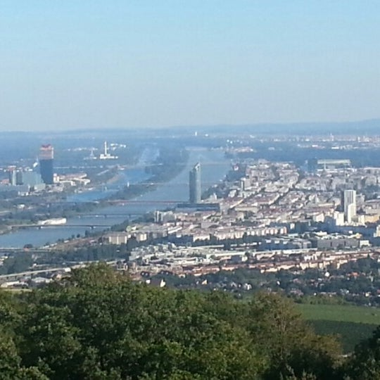 Photo taken at Kahlenberg by Sevban A. on 9/9/2012