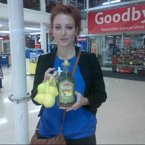 Photo taken at Tesco by Charlie on 7/13/2012
