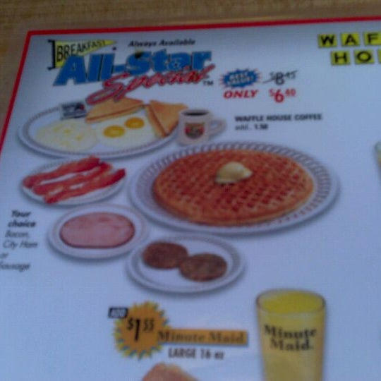 Photo taken at Waffle House by Chad M. on 5/30/2012