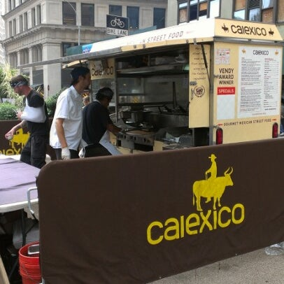 Photo taken at Calexico Cart by Elena A. on 8/22/2012