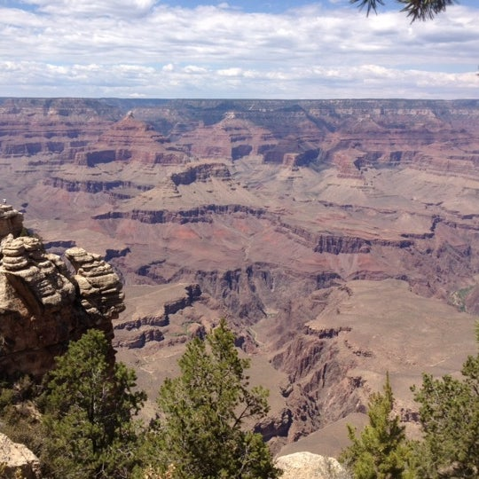 Photo taken at Grand Canyon National Park by Estela H. on 7/12/2012