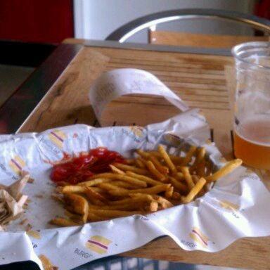 Photo taken at Burger Tap by Gary P. on 4/2/2012