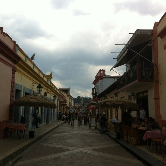 Photo taken at Andador Real de Guadalupe by Karmen B. on 4/6/2012