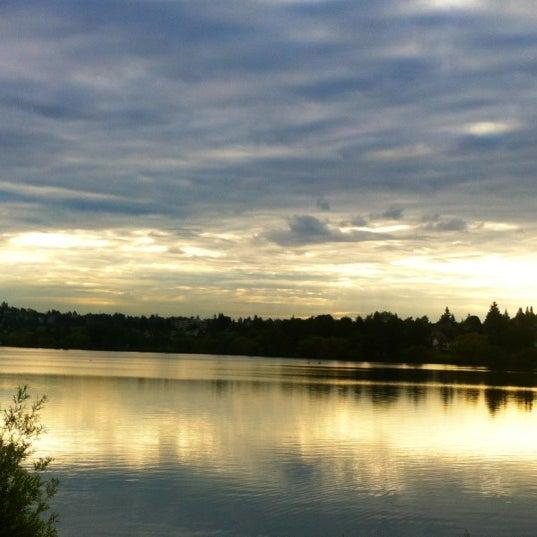 Photo taken at Green Lake Boathouse by Erik B. on 6/12/2012