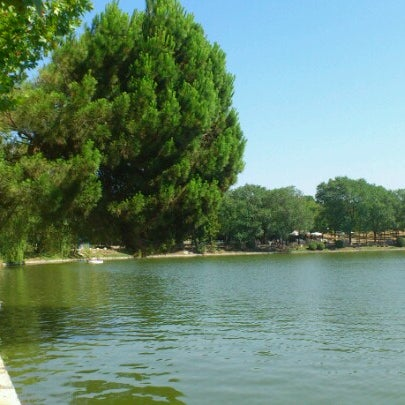 Photo taken at Lago de la Casa de Campo by Araceli P. on 7/28/2012