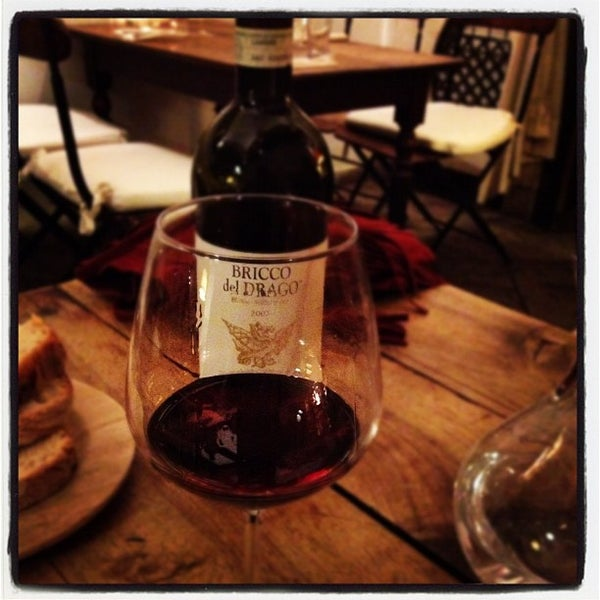 Photo taken at Enoteca Ferrazza by Julien L. on 9/2/2012