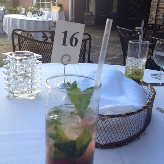 Photo taken at Broussard's Restaurant & Courtyard by Emily L. on 4/6/2012