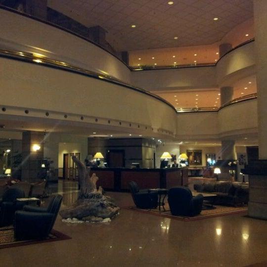 Photo taken at Kempinski Hotel Corvinus by Jeffrey C. on 3/10/2012