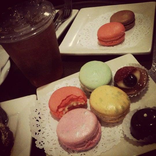 Photo taken at La Maison du Macaron by jenni on 6/11/2012