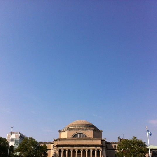 Photo taken at South Lawn Columbia University by David J. on 5/28/2012