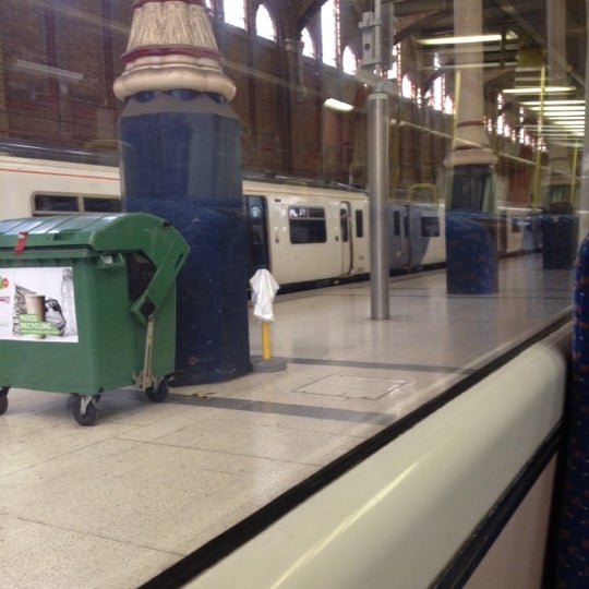 Photo taken at London Liverpool Street Railway Station (LST) by Bella-Marie F. on 9/6/2012