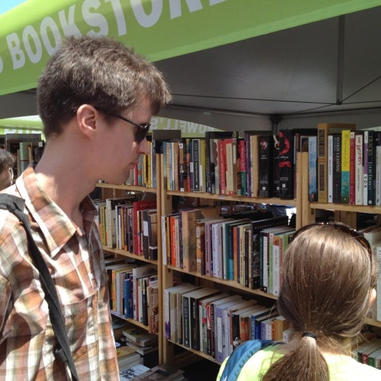 Photo taken at Printers Row Lit Fest by Sarah B. on 6/10/2012
