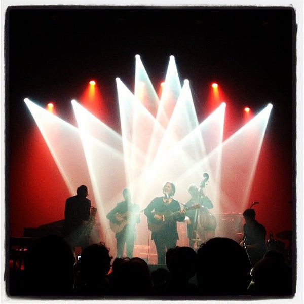 Photo taken at AB Ancienne Belgique by Mauro B. on 4/22/2012