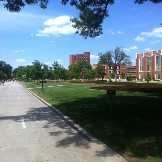 Photo taken at South Oval by Ally N. on 5/10/2012