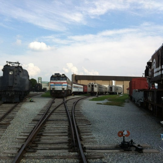 Photo taken at Railroad Museum of Pennsylvania by Scott S. on 8/21/2012