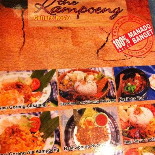 Photo taken at The Kampoeng by Nazlyza L. on 9/12/2012
