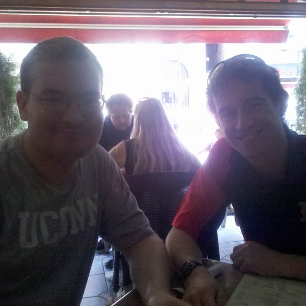 Photo taken at Caffe Pompei by Maddy P. on 4/15/2012
