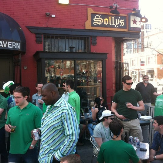 Photo taken at Solly's U Street Tavern by John C. on 3/17/2012