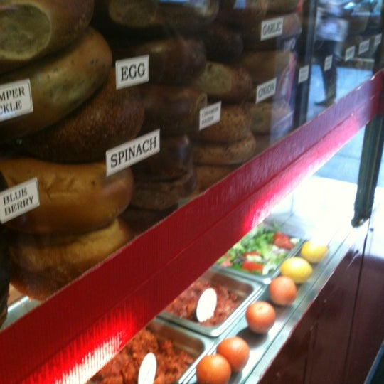 Photo taken at Famous Bagel Buffet by Alvin U. on 8/29/2012