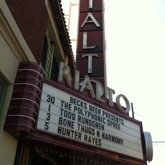 Photo taken at The Rialto Theatre by Leigh S. on 3/28/2012