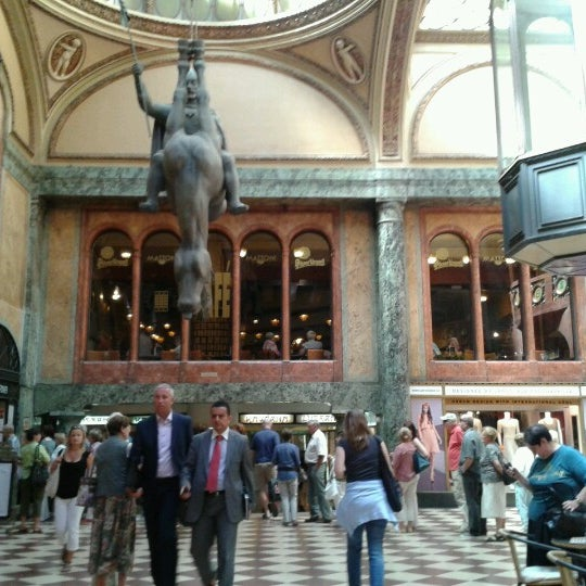 Photo taken at Palác Lucerna by Tereza B. on 7/23/2012