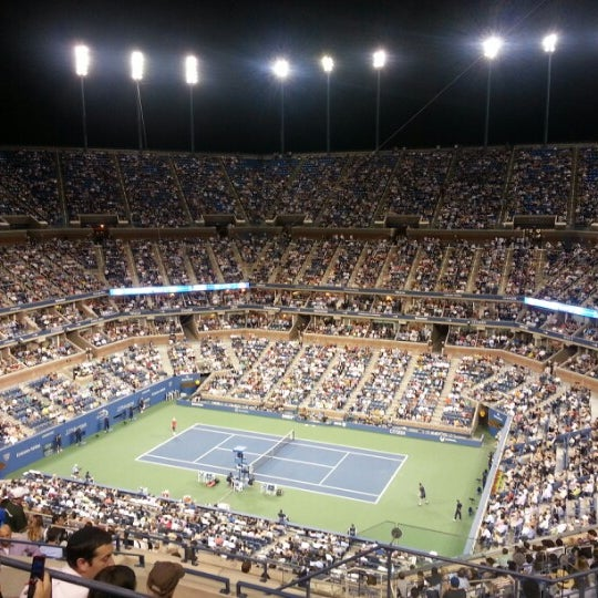 Photo taken at 2014 US Open Tennis Championships by Kino on 8/30/2012