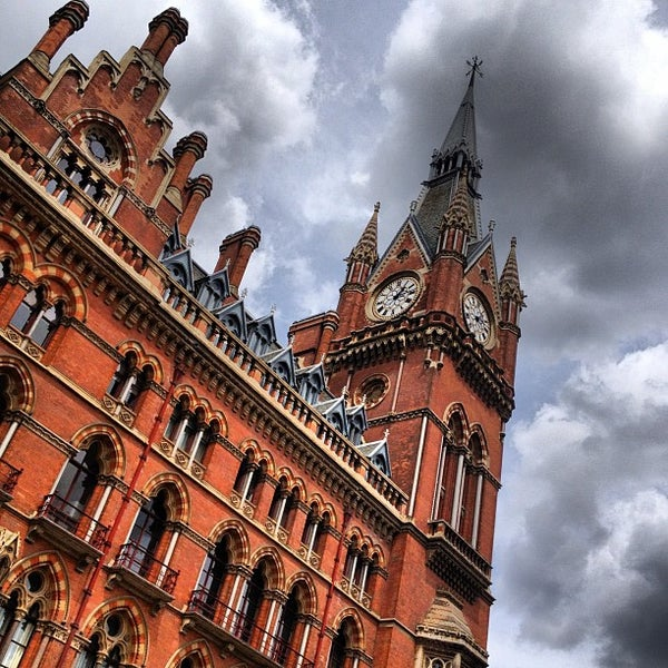 Photo taken at London St Pancras International Railway Station (STP) by Ardvark on 6/25/2012