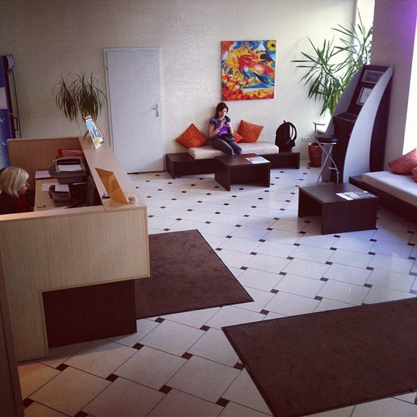 Photo taken at Comfort Hotel Vilnius by Dmitry Z. on 5/10/2012