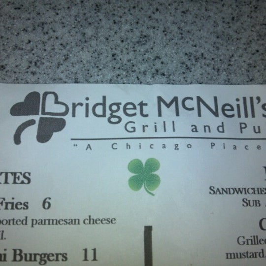Photo taken at Bridget McNeill's Grill & Pub by Matt G. on 6/17/2012