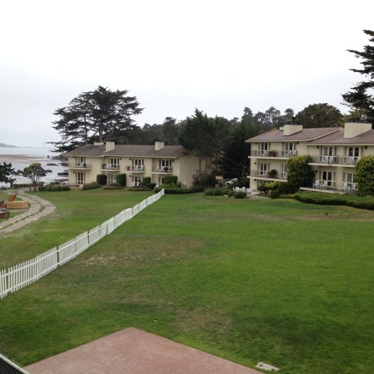 Photo taken at The Lodge at Pebble Beach by Joshua P. on 6/29/2012