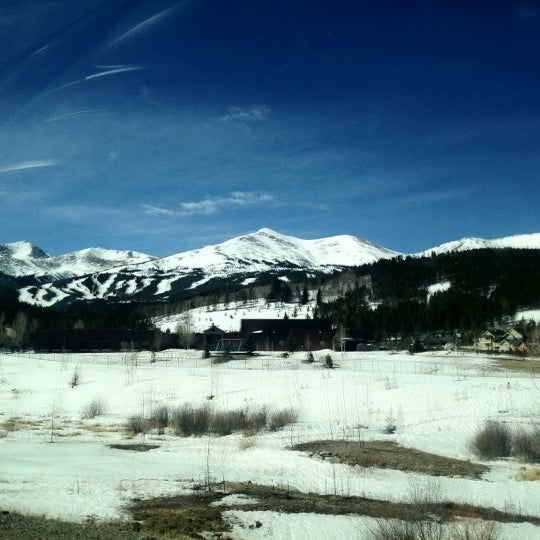 Photo taken at Breckenridge Ski Resort by Ryan C. on 3/17/2012