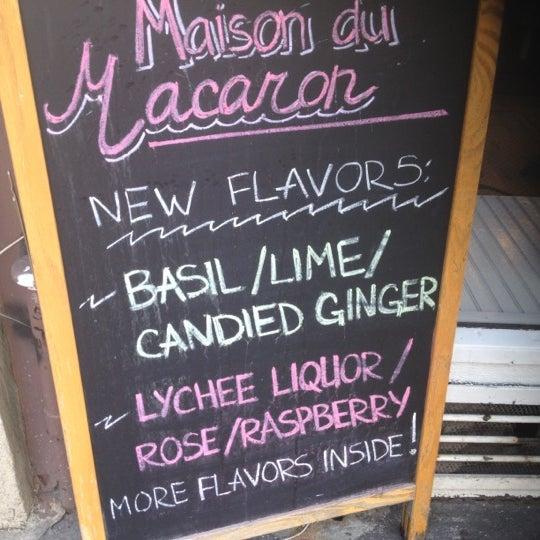Photo taken at La Maison du Macaron by Phoebe E. on 7/1/2012