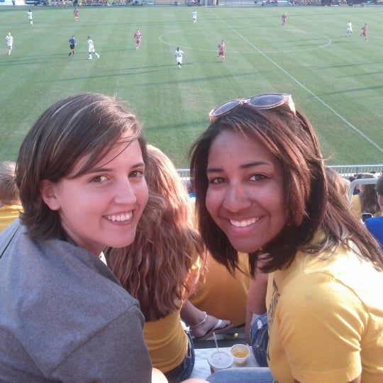 Photo taken at Dick Dlesk Soccer Stadium by Jessica H. on 8/25/2012