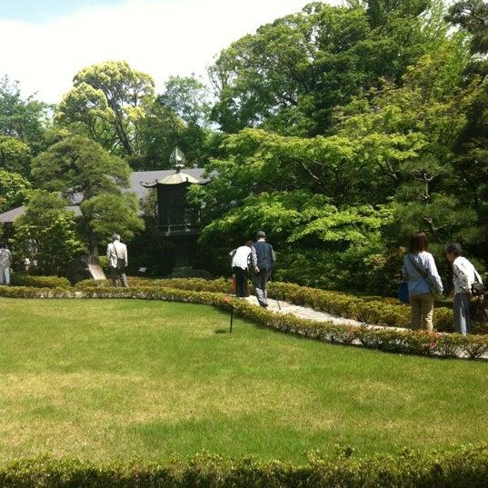 Photo taken at 根津美術館 (Nezu Museum) by tetsuya on 5/18/2012