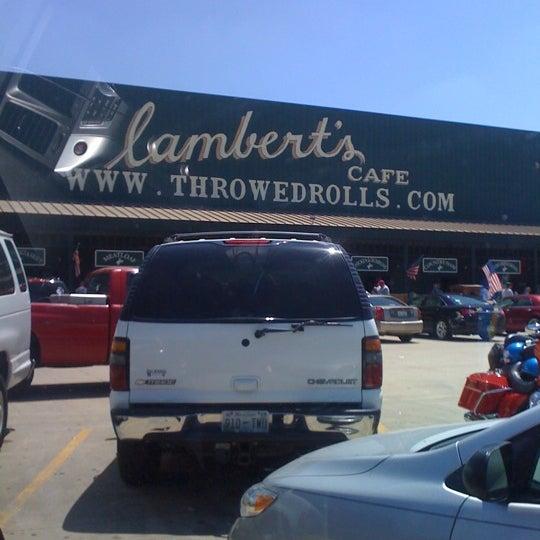 Photo taken at Lambert's Cafe by Leronda G. on 7/21/2012