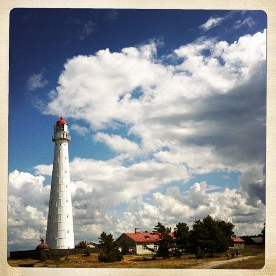 Photo taken at Tahkuna tuletorn by Tiina R. on 8/2/2012