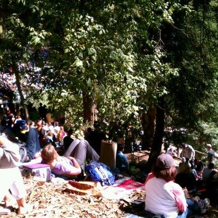 Photo taken at Sigmund Stern Grove by Liz W. on 8/26/2012