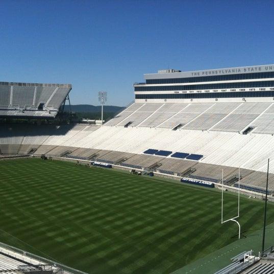 Photo taken at Beaver Stadium by Sean M. on 6/13/2012