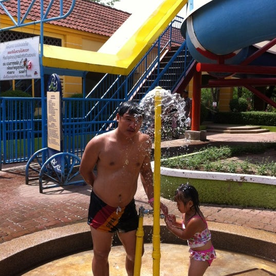 Photo taken at Siam Park City by Aumpapon C. on 5/12/2012