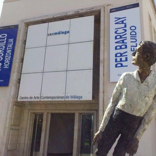 Foto tomada en CAC Málaga - Centro de Arte Contemporáneo por Begoña el 7/23/2012