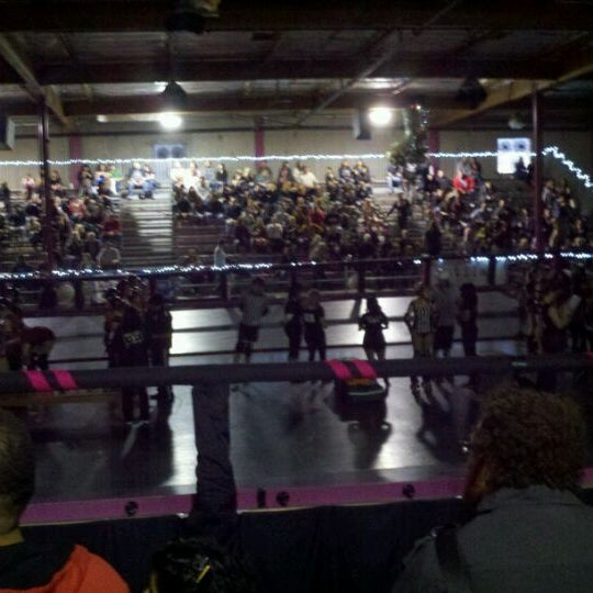 Photo taken at Doll Factory (L.A. Derby Dolls) by esther on 4/15/2012