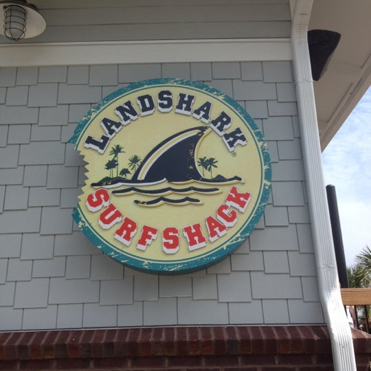 Photo taken at Landshark Bar & Grill by Jamie on 7/25/2012