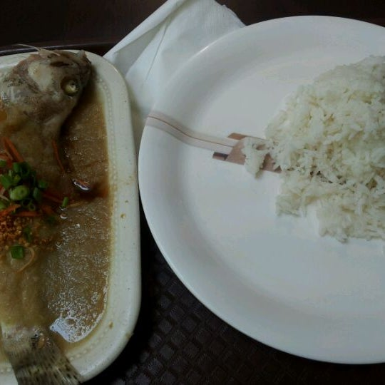 Photo taken at Chow Food Court by Jane C. on 4/18/2012