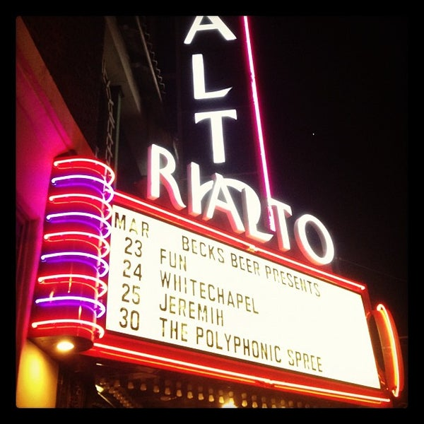 Photo taken at The Rialto Theatre by Sami L. on 3/24/2012