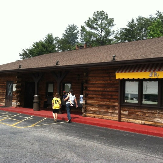 Photo taken at JR's Log House Restaurant by Stephen G. on 4/21/2012