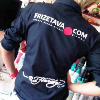 Photo taken at Frizetava.com - skaistuma studija, solārijs un kafejnīca by Frizetava.com s. on 5/5/2012