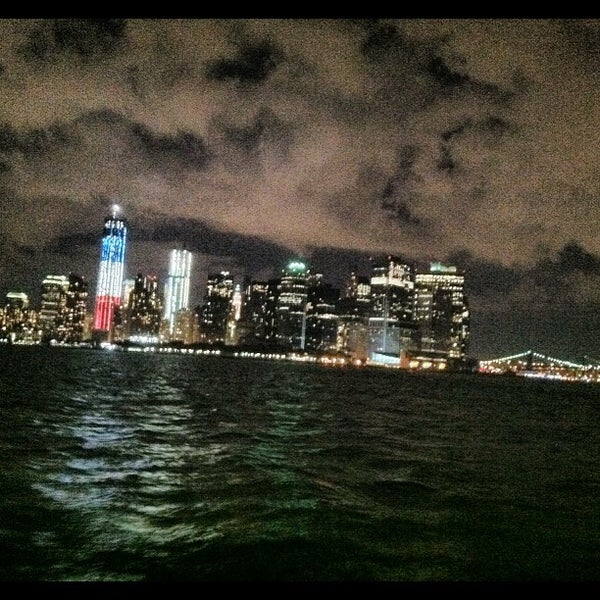 Photo taken at New York Harbor by Jarvis M. on 9/10/2012