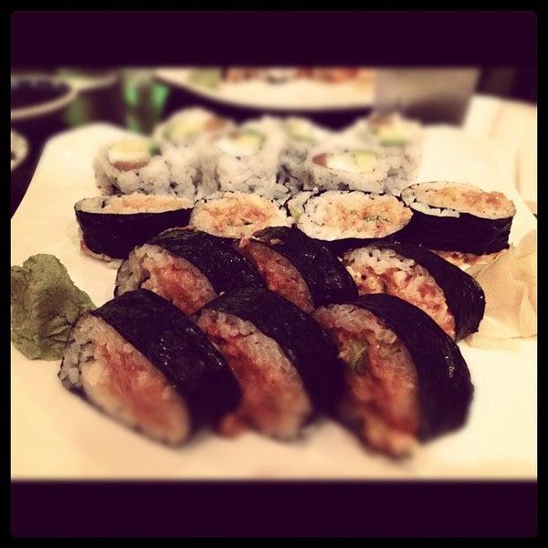 Photo taken at Sushi Lounge by Kashem M. on 5/2/2012
